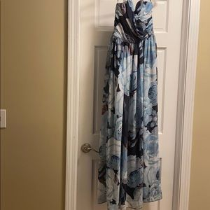 ASOS sweetheart cut long dress. Size 8.